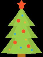 Colour Christmas Tree