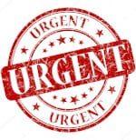 Priority Package - Urgent Stamp